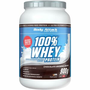 Body Attack 100% Whey Protein, Šokolaadi brownie (900 g) 1/1