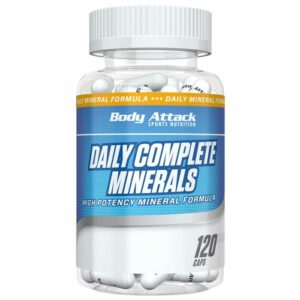 Body Attack Daily Complete Minerals kapslid (120 tk) 1/1
