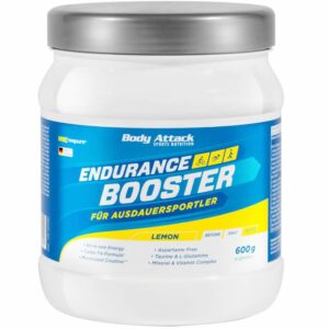Body Attack Endurance Booster, Sidruni (600 g) 1/1