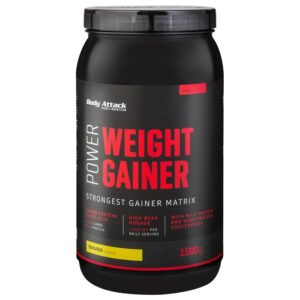 Body Attack Power Weight Gainer, Banaani (1.5 kg) 1/1
