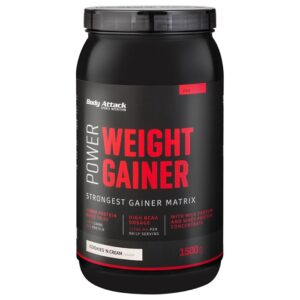 Body Attack Power Weight Gainer, Kreemiküpsise (1.5 kg) 1/1