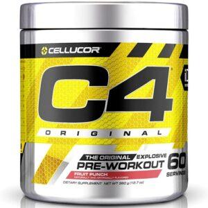 Cellucor C4 Original Pre-Workout, Fruit Punch (60 serveeringut) 1/1