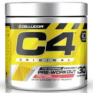 Cellucor C4 Original Pre-Workout, Fruit Punch (30 serveeringut) 1/1
