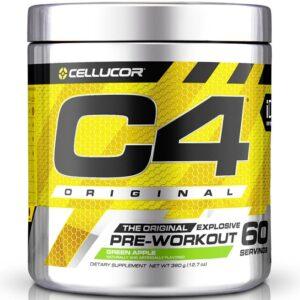 Cellucor C4 Original Pre-Workout, Green Apple (60 serveeringut) 1/1
