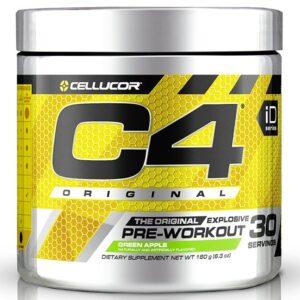 Cellucor C4 Original Pre-Workout, Green Apple (30 serveeringut) 1/1