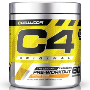 Cellucor C4 Original Pre-Workout, Orange Burst (60 serveeringut) 1/1