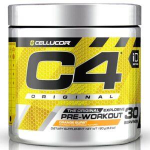 Cellucor C4 Original Pre-Workout, Orange Burst (30 serveeringut) 1/1
