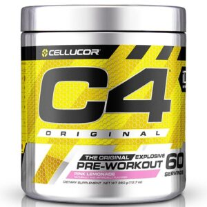 Cellucor C4 Original Pre-Workout, Pink Lemonade (60 serveeringut) 1/1