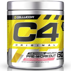 Cellucor C4 Original Pre-Workout, Strawberry Margarita (60 serveeringut) 1/1