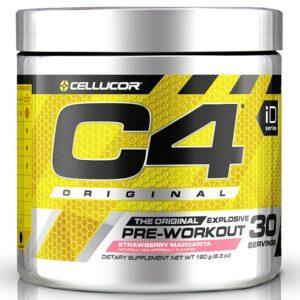 Cellucor C4 Original Pre-Workout, Strawberry Margarita (30 serveeringut) 1/1