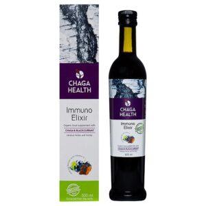 Chaga Health Immuno Eliksiir MAHE, Mustsõstra (500 ml) 1/1