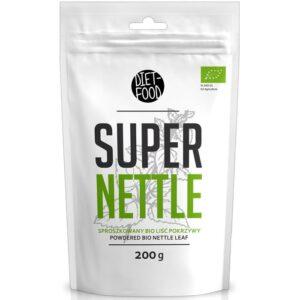 Diet Food Bio Super Nettle orgaaniline nõgeselehe pulber (200 g) 1/1