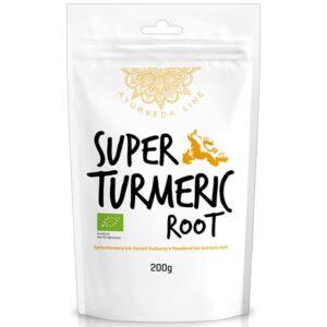 Diet Food Bio Super Turmeric Root kurkumijuure pulber (200 g) 1/1