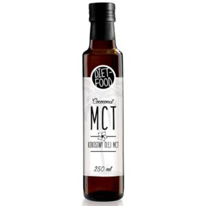 Diet Food Coconut MCT Oil vedel kookosõli (250 ml) 1/1