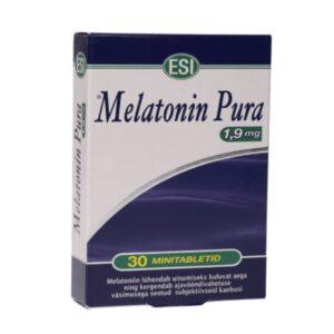 ESI melatoniini minitabletid 1.95 mg, 30 tk 1/1