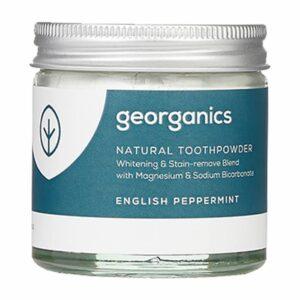 Georganics looduslik hambapulber, Metsiku inglise piparmündiga (60 ml) 1/1