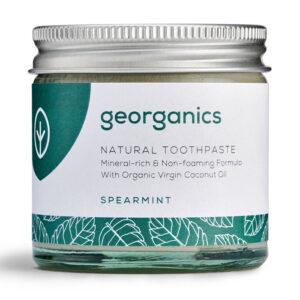 Georganics looduslik remineraliseeriv hambapasta kookosõli baasil, Rohemünt (120 ml) 1/1