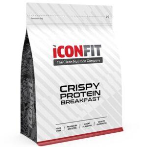 ICONFIT Crispy Protein Breakfast, Kookose-mustsõstra (500 g / 10 Toidukorda) 1/1