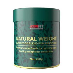 ICONFIT Natural Weight (Toorkakao, Smuutidele 250 g) 1/1