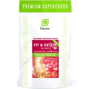 Intenson Fit & Detox Elixir kiudaineterikas kaalualandav kokteil (60 g) 1/1