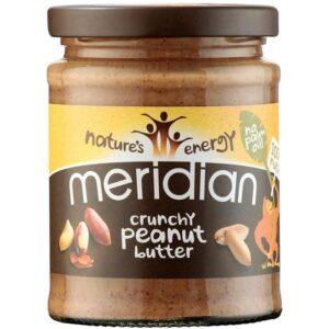 Meridian Foods maapähklivõi, Crunchy (280 g) 1/1