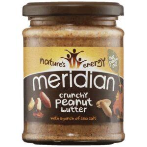 Meridian Foods maapähklivõi, Crunchy With Salt (280 g) 1/1