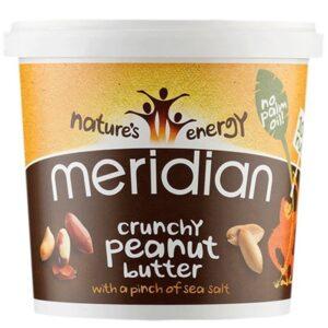Meridian Foods maapähklivõi, Crunchy With Salt (1 kg) 1/1