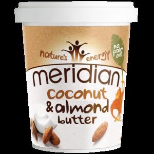 Meridian Foods mandlivõi kookosega (454 g) 1/1