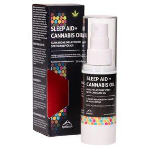 NordAid Sleep Aid, melatonin 1 mg+ kanepiõli 1/1