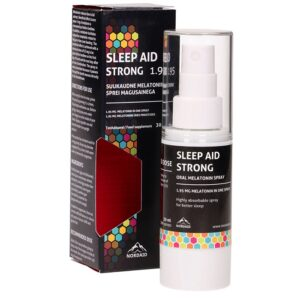 Nordaid Sleep Aid Strong 1.95 mg melatoniini sprei, 30 ml 1/1
