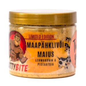 Nuttybite krõmpsuv maapähklivõi maius, Lehmakomm & pistaatsia (250) 1/1