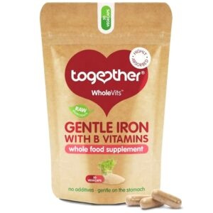 Together Health WholeVits™ Gentle Iron raua kompleks kapslid (30 tk) 1/1
