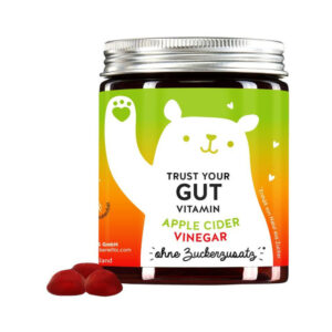 Bears with Benefits Trust Your Gut Vitamins õunasiidriäädikaga 60tk 1/2