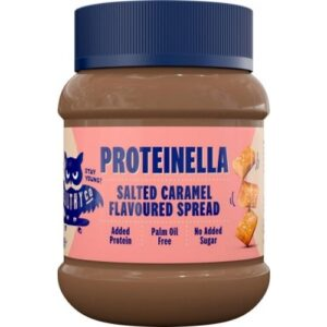 HEALTHYCO PROTEINELLA SALTED CARAMEL PROTEIINIKREEM 400G 1/2