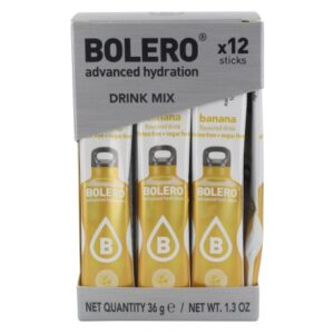 Bolero STICKS - Banana, spordijook (12 x 3g) 1/2