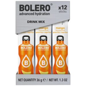Bolero Sticks Mango, spordijook (12x3g) 1/2