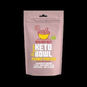 DIET FOOD BIO KETO BOWL PEANUT PROTEIN 1/2