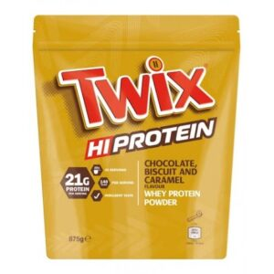 Twix Proteiinipulber (875g) Chocolate, Biscuit & Caramel 1/1