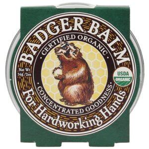 Badger Balm Hardworking Hands Balm sügavniisutav palsam karedatele kätele (21 g) 1/1