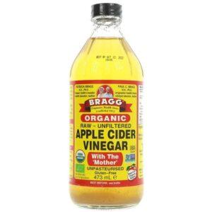 Bragg Apple Cider Vinegar w/Mother orgaaniline siidriäädikas (473 ml) 1/1