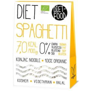 Diet Food Bio Organic Konjac Pasta Shirataki mahe nuudlid, Spaghetti (300 g) 1/1