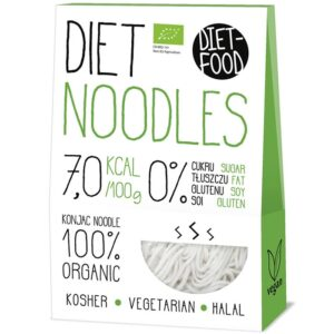 Diet Food Bio Organic Konjac Pasta Shirataki mahe nuudlid, Noodles (300 g) 1/1