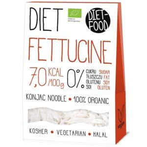 Diet Food Bio Organic Konjac Pasta Shirataki mahe nuudlid, Fettucine (300 g) 1/1