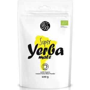 Diet Food orgaaniline Yerba Mate tee - lahustuv pulber (100 g) 1/1