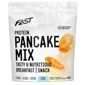 Fast Protein Pancake Mix valgurikas pannkoogijahu, Maitsestamata (450 g) 1/1