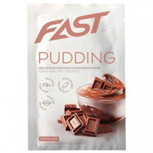 Fast Pudding Deluxe valgu pudingupulber, Šokolaadi (30 g) 1/1