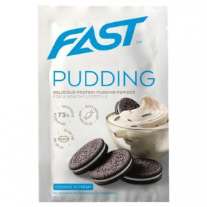 Fast Pudding Deluxe valgu pudingupulber, Kreemiküpsise (30 g) 1/1