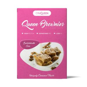 GymQueen Queen Protein Brownies, Snickerdoodle (500 g) 1/1
