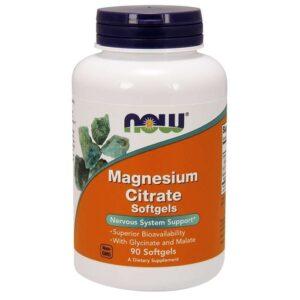 Magnesium Citrate Softgels (90 tk) 1/1